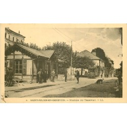 74 SAINT-JULIEN-EN-GENEVOIS. Station de Tramway