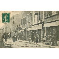 WW 26 MONTELIMAR. Camelot avec charrette rue Sainte-Croix 1908