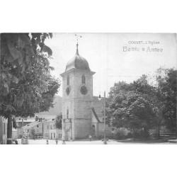 WW SUISSE. La Bonne Année de Couvet avec son Eglise en 1915