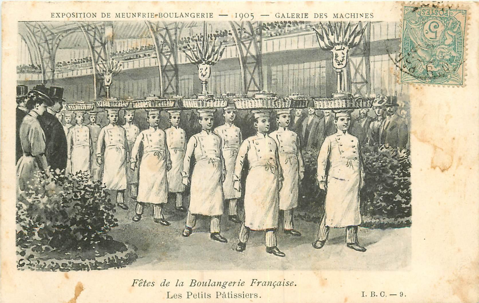 WW Paris Exposition de Meunerie Boulangerie 1905. Les Petits Pâtissiers Galerie Machines