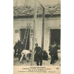 WW 94 NOGENT-SUR-MARNE. Garnier et Valet traqués dans un Pavillon par des Policiers 1912