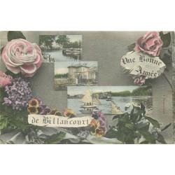 WW 92 BOULOGNE BILLANCOUT. Une bonne Année 1908
