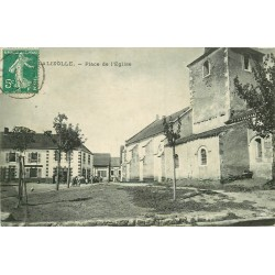 WW 03 LA LIZOLLE. Animation Place de l'Eglise 1909