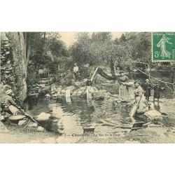WW 03 CHANTELLE. Lavandières au Roc de la Cave
