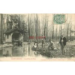 WW 51 SAINT-AMAND. Les Sites du Fion. Une Partie de Pêche 1907