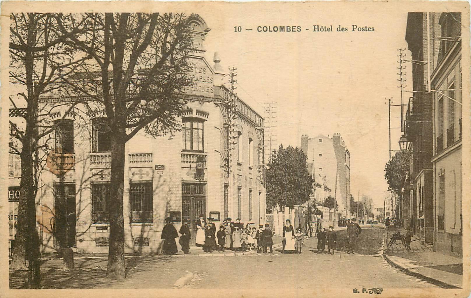 WW 92 COLOMBES. Hôtel des Postes