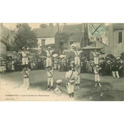 WW 03 COMMENTRY. Les Pupilles de l'Espérance Gymnastes 1908