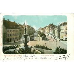 WW LA CHAUX-DE-FONDS. Rue Léopold Robert 1904
