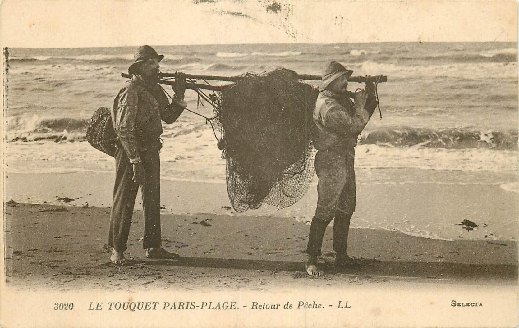 62 LE TOUQUET. Retour de Pêche 1925