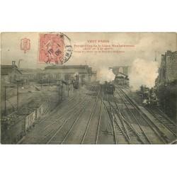 WW PARIS XIV. La Gare Montparnasse 1906