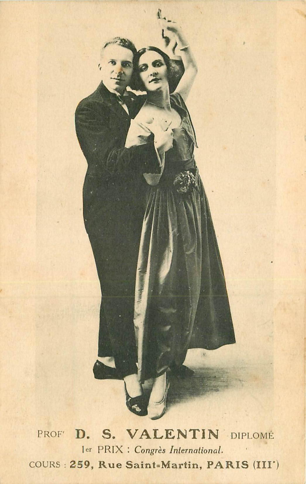 WW PARIS. Valentin Professeur de danse 259 rue Saint-Martin
