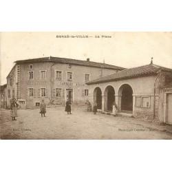 WW 71 BERZE-LA-VILLE. Restaurant Auberge Laurent sur la Place