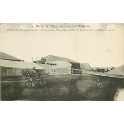 WW 01 AMBERIEU. Eparvier sur Monoplan Aérodrome de Bellièvre