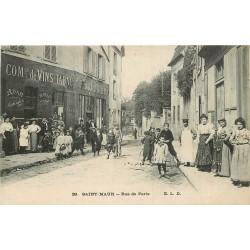 94 SAINT-MAUR. Tabac Adam rue de Paris 1916