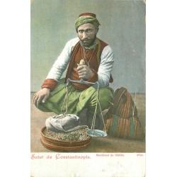 WW CONSTANTINOPLE. Marchand de léblébi en Turquie