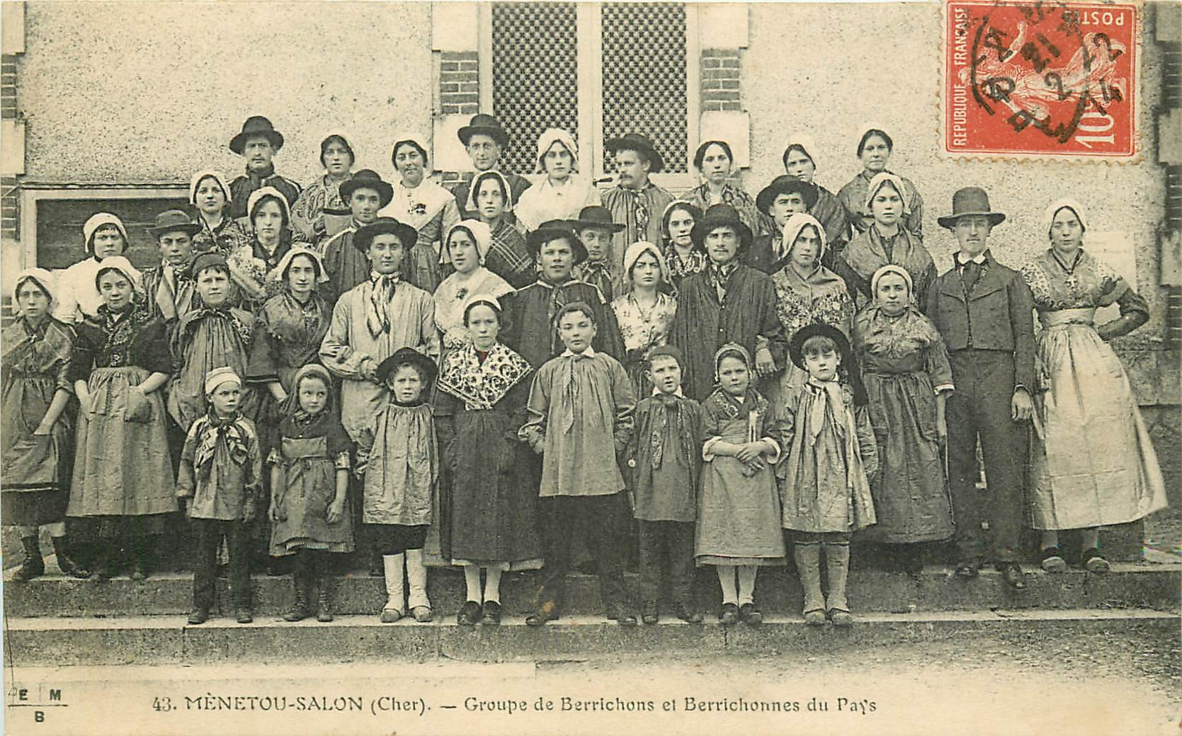 WW 18 MENETOU-SALON 1914 Berrichons folkloriques