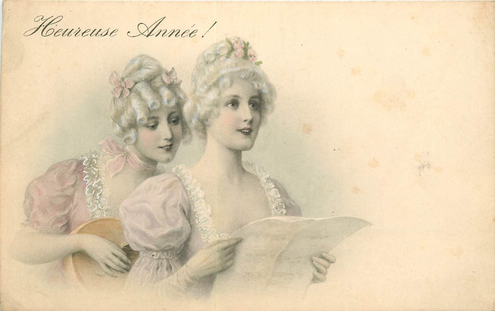 WW Série VIENNE. Femmes chanteuse et guitariste