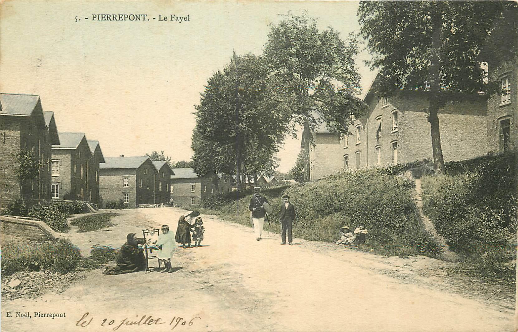 WW 54 PIERREPONT. Le Fayel avec Gendarme 1906