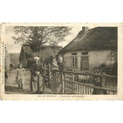 WW 58 MORVAN. Chaumière morvandelle 1931