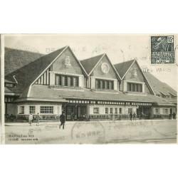 WW 14 DEAUVILLE. La Gare 1931