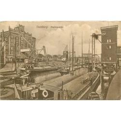 WW DUISBURG. Hafenpartie avec Péniches en Allemagne