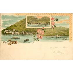 WW Lago d'Iseo 1904 en Italie