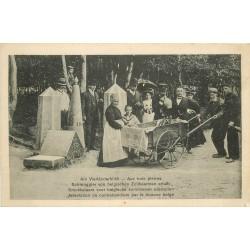 WW Am Vierländerblick. Arrestation de Contrebandiers par Douane belge 1918
