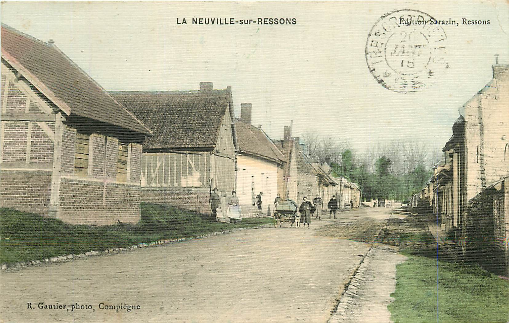 WW 60 LA NEUVILLE-SUR-RESSONS 1915