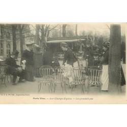 PARIS VECU. Les premiers pas avec Nurses au Champs Elysees