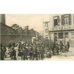 WW 63 CLERMONT-FERRAND. Sortie Ouvriers Usine Michelin