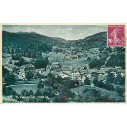 WW SAINT CERGUE. Village en Suisse 1934