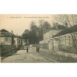 WW 77 CLAYE. Ecole des Filles rue du Pont-Neuf