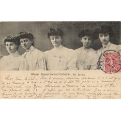 WW AUTRICHE. Wiener Damen-Concert-Orchester 1907