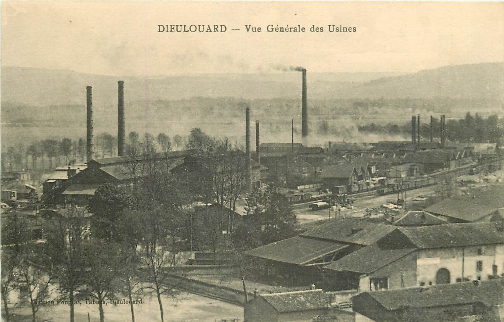 WW 54 DIEULOUARD. Les Usines