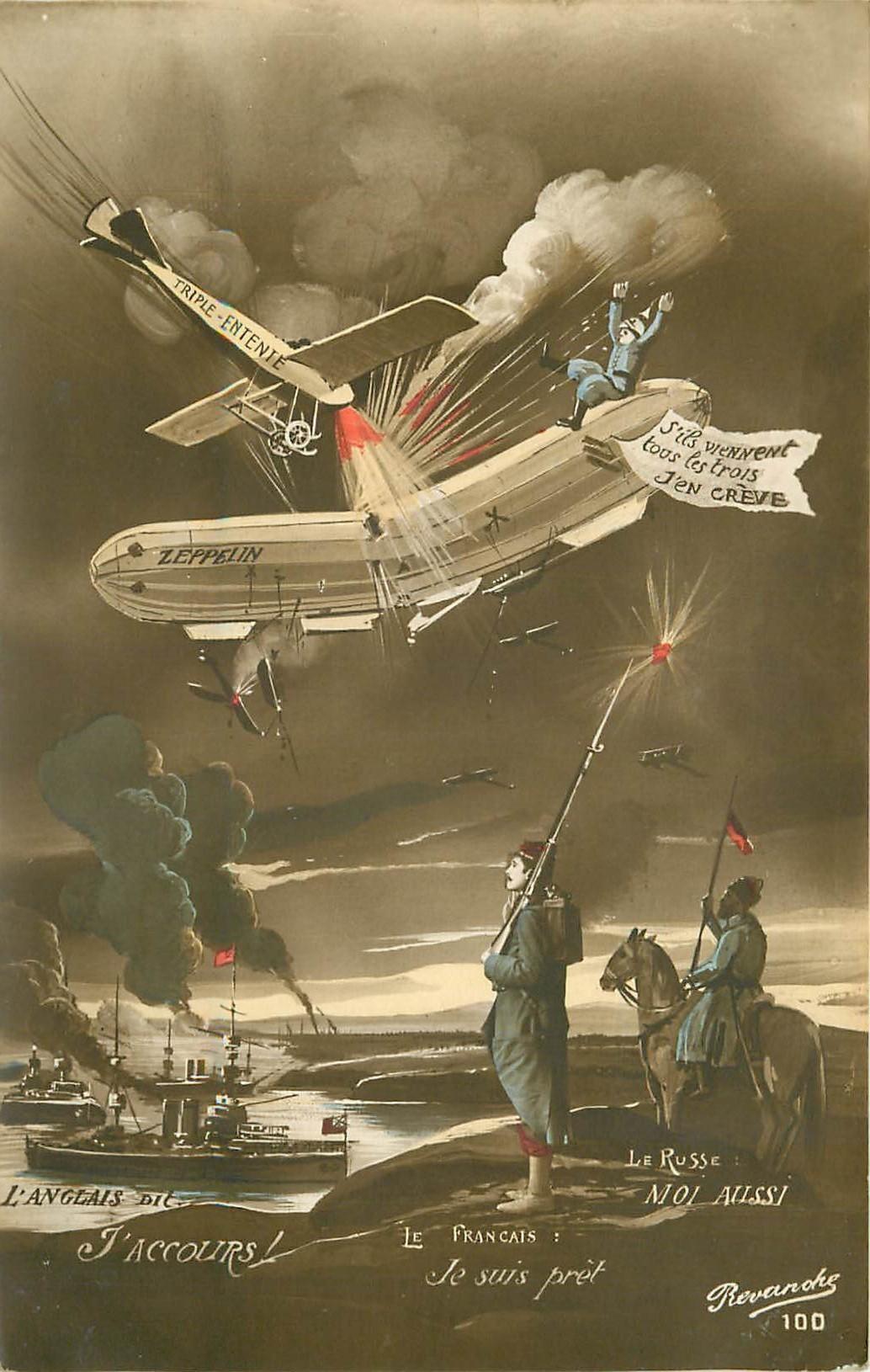 MILITARIA. La Triple entente Guerre 1914-18