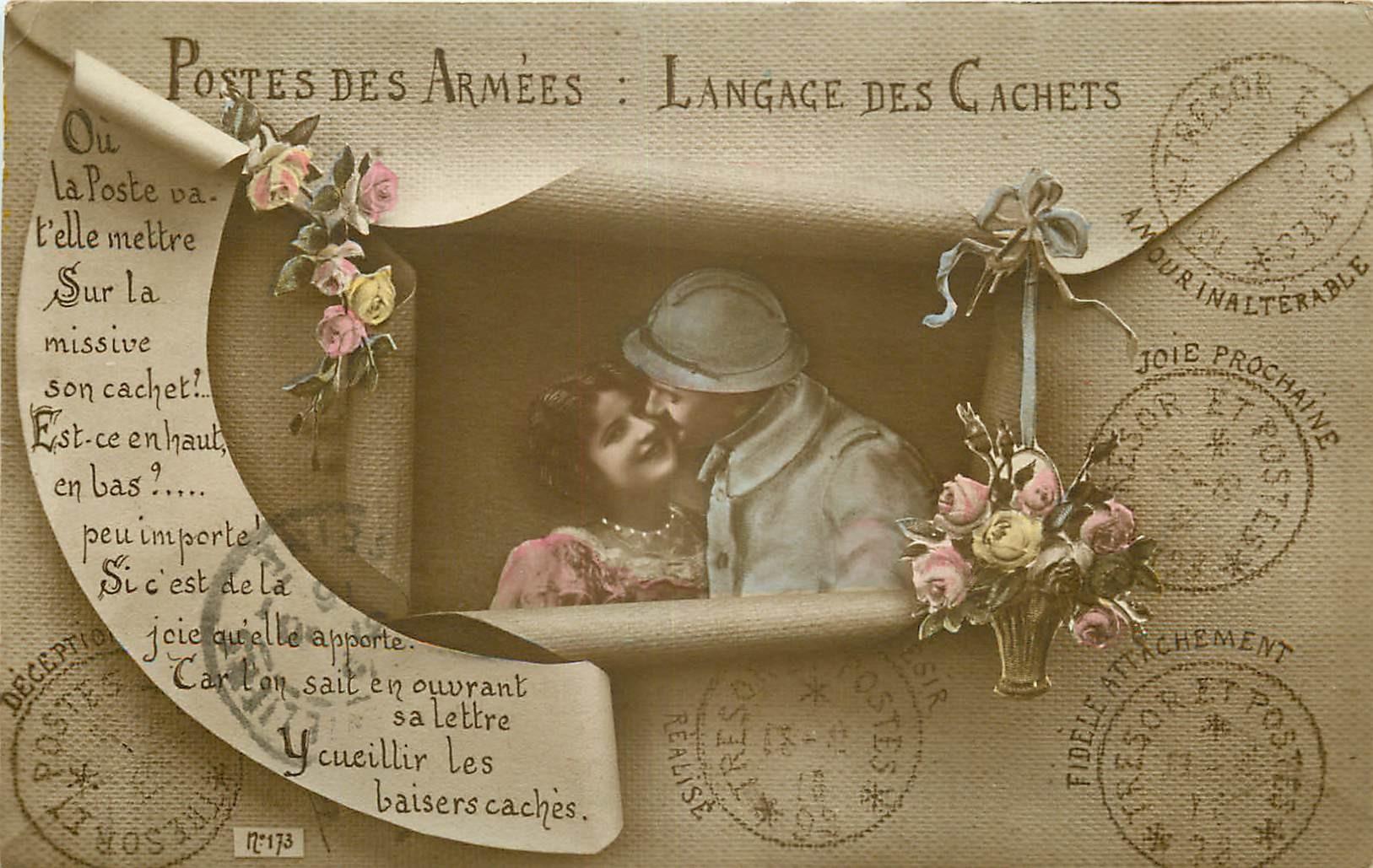 MILITARIA. Postes des Armées le Langage des Cachets Guerre 1914-18