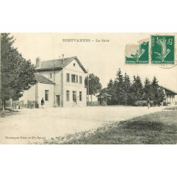 52 BREUVANNES. La Gare 1910