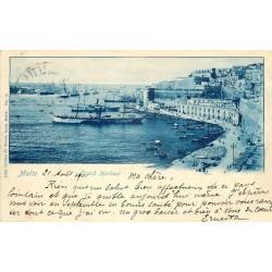 MALTA MALTE. Grand Harbour 1901