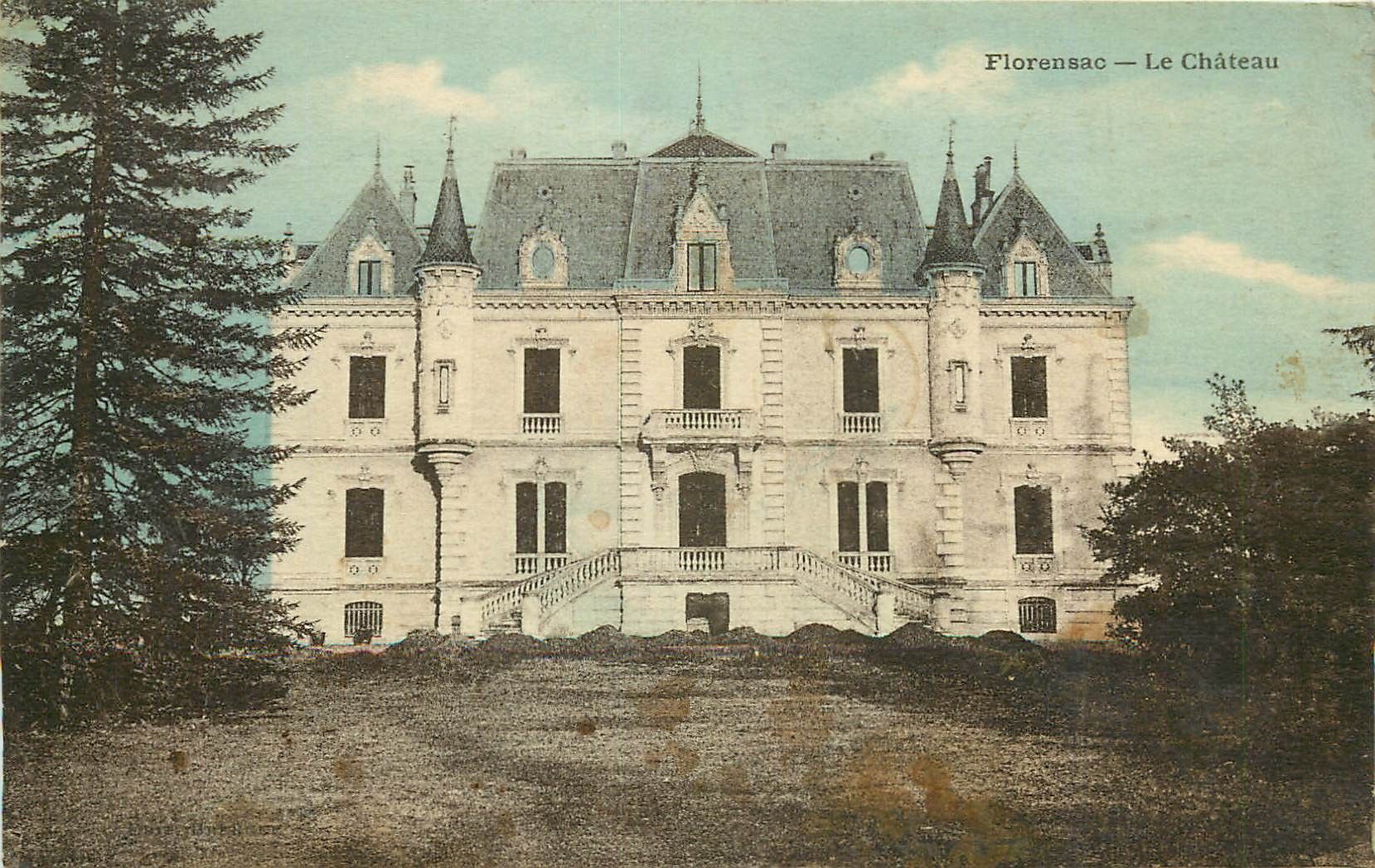 34 FLORENSAC. Le Château 1926