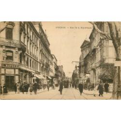 84 AVIGNON. Pharmacie Ravoux rue de la République 1924