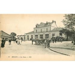 77 MELUN. La Gare