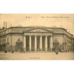 14 CAEN. Top Promotion Palais de Justice Place des Tribunaux 1926 pour Mr Lebon Directeur Banque de France