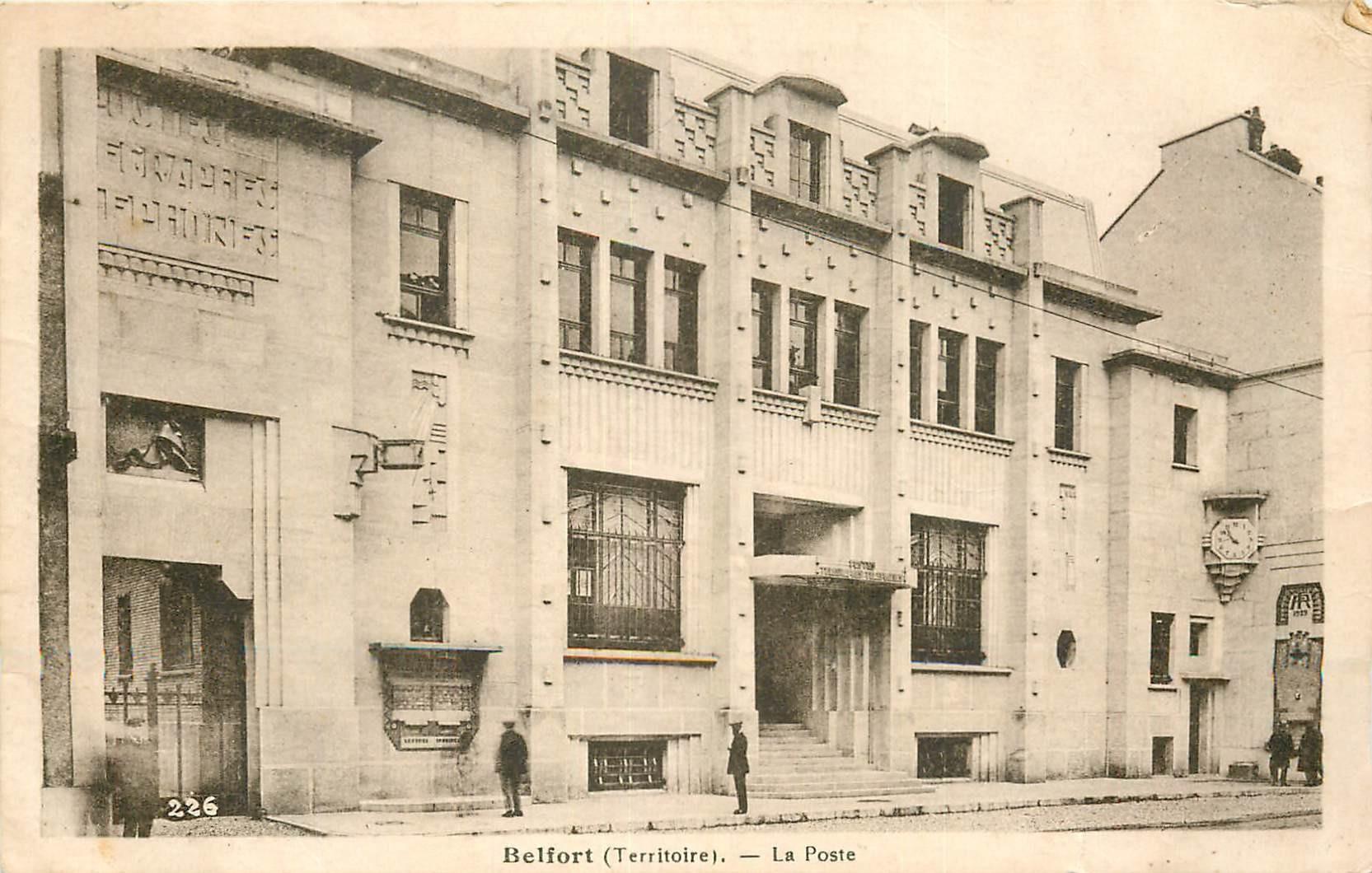 90 BELFORT. La Poste 1939