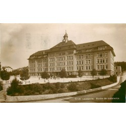 LAUSANNE. Ecole de Commerce 1922
