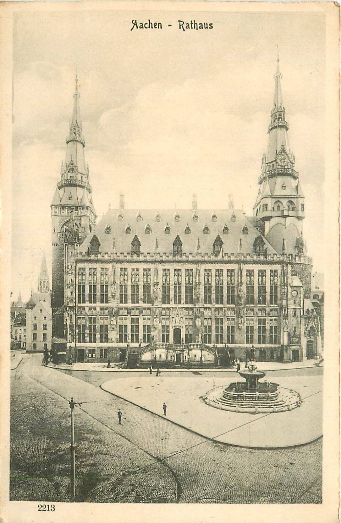 AACHEN. Rathaus