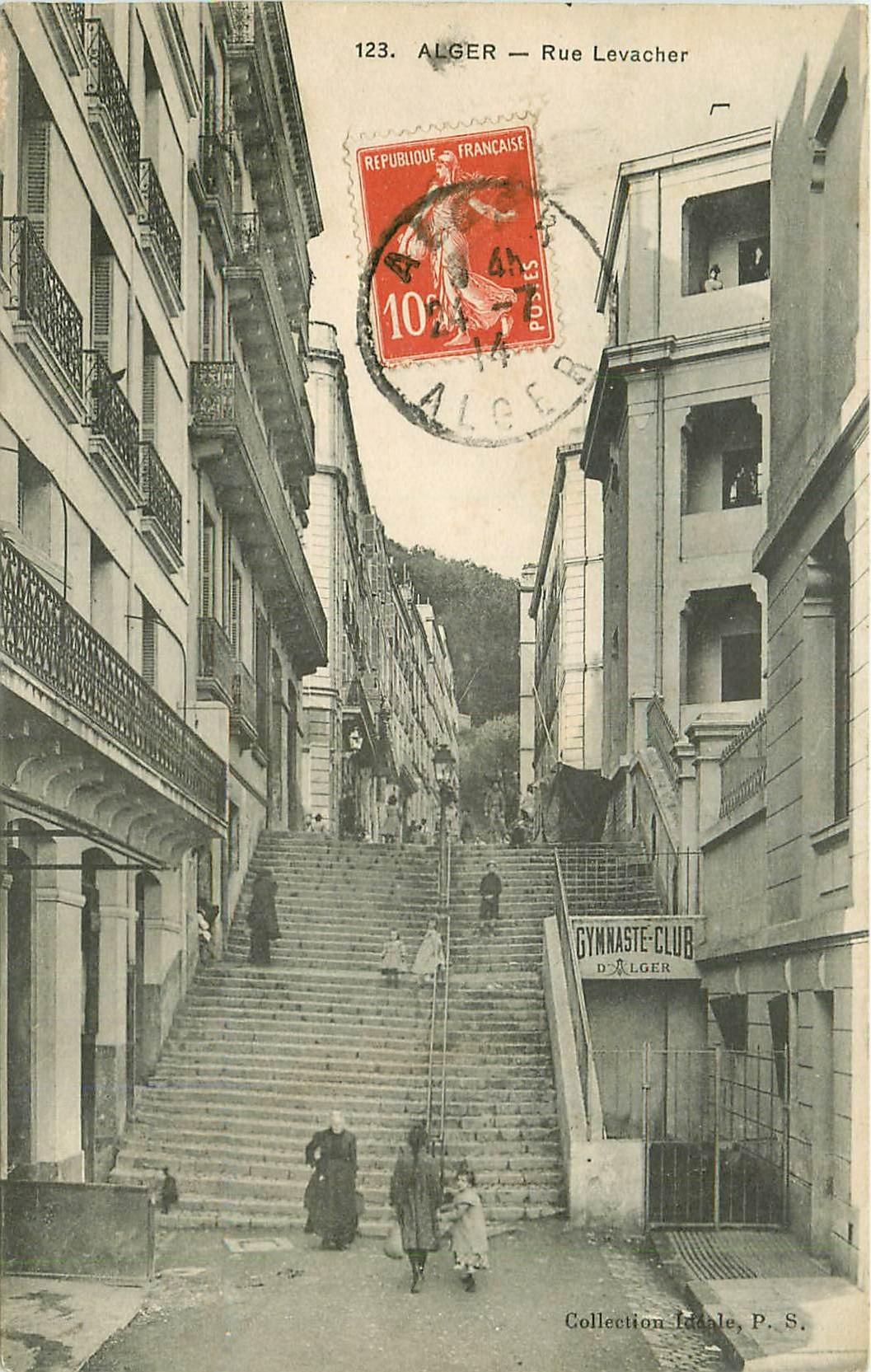 ALGER. Gymnaste-Club rue Levacher 1914
