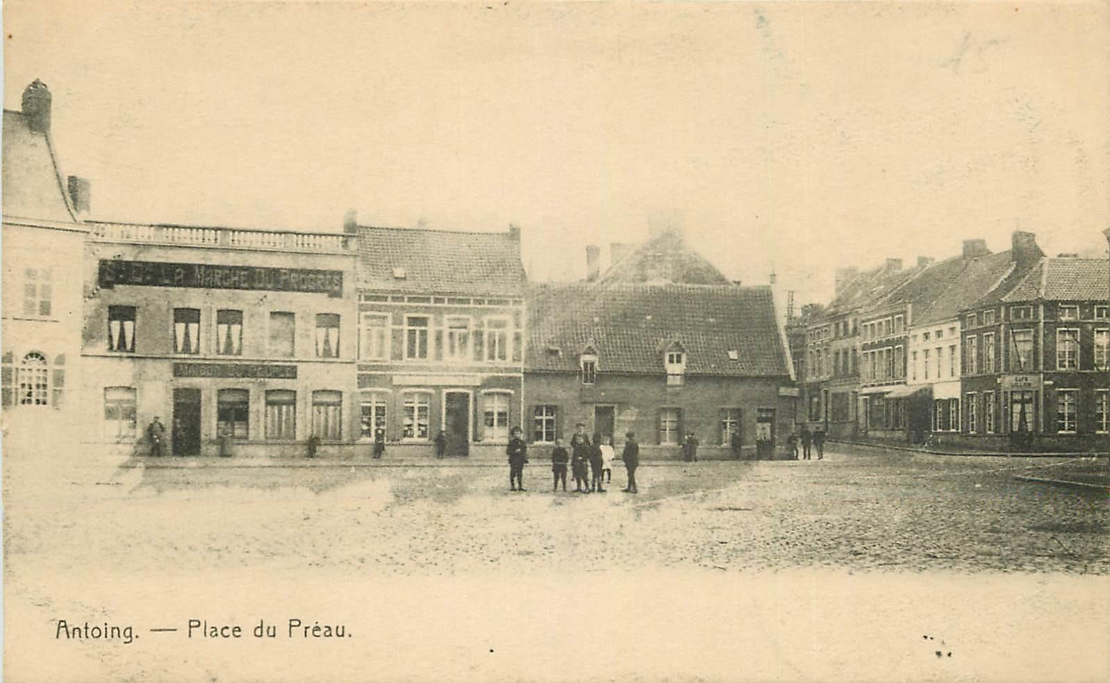ANTOING. Place du Préau