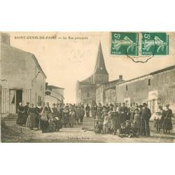 85 SAINT-DENIS-DU-PAIRE. Rue Principale 1908