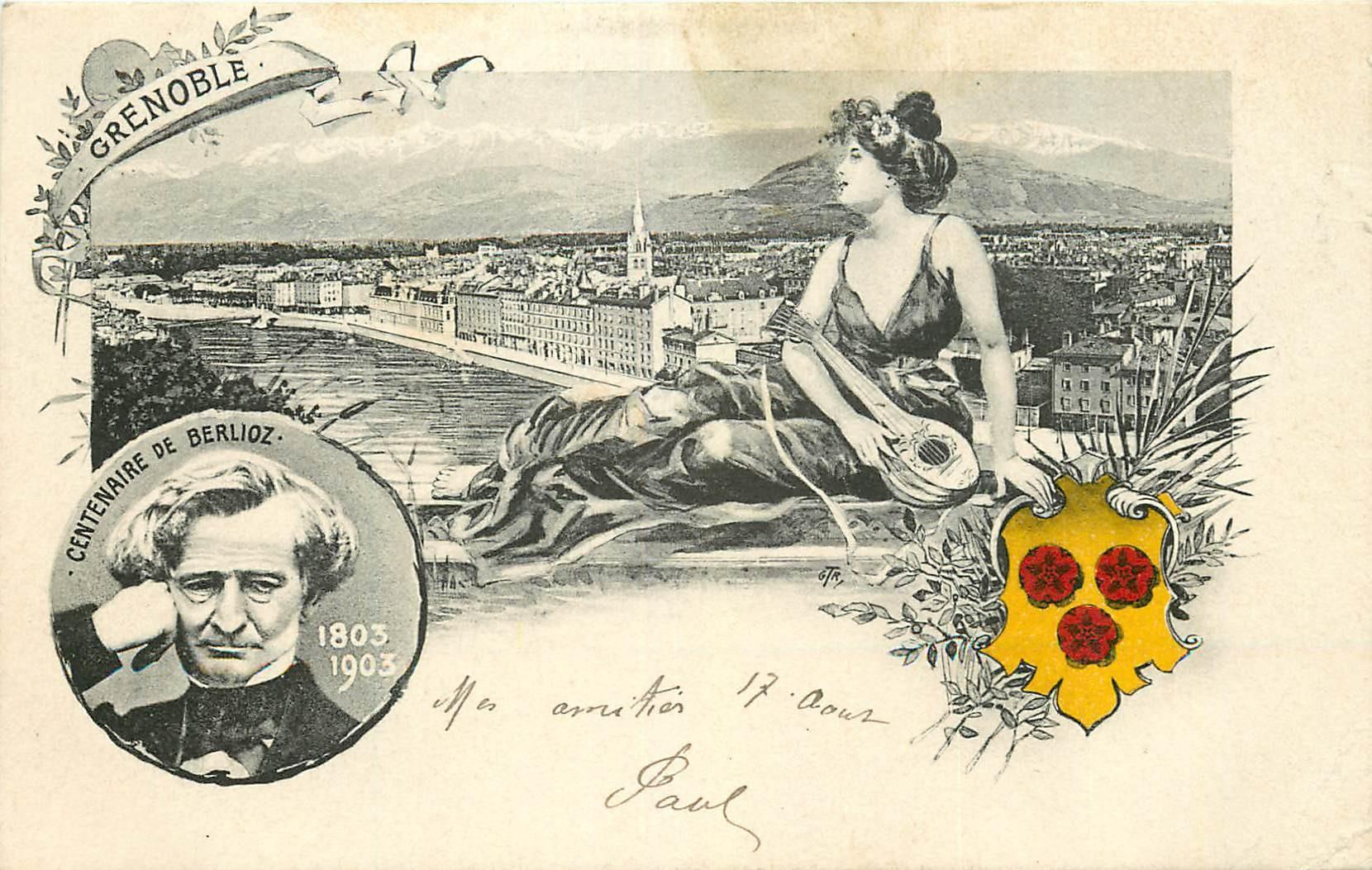 38 GRENOBLE. Centenaire de Berlioz 1903