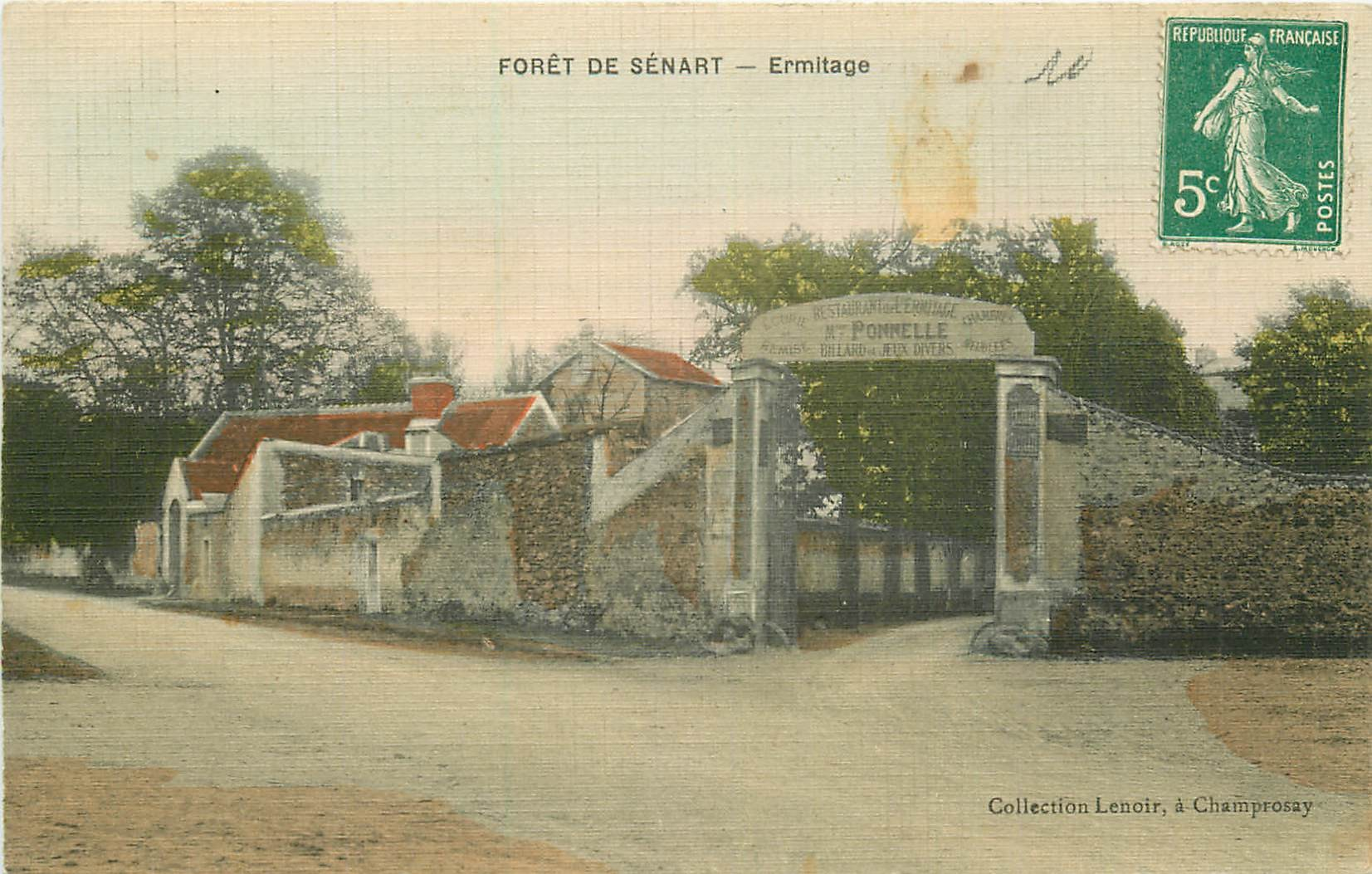 91 FORET DE SENART. Restaurant Ermitage